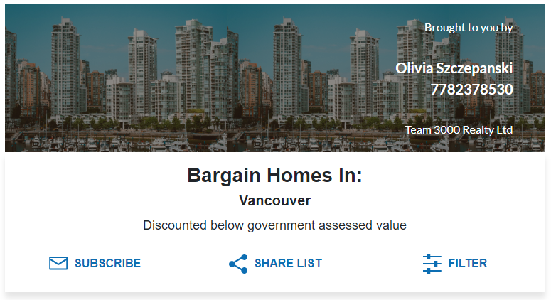 bargain homes in Vancouver